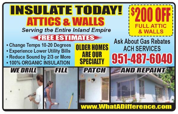 Wall Insulation San Bernardino County
